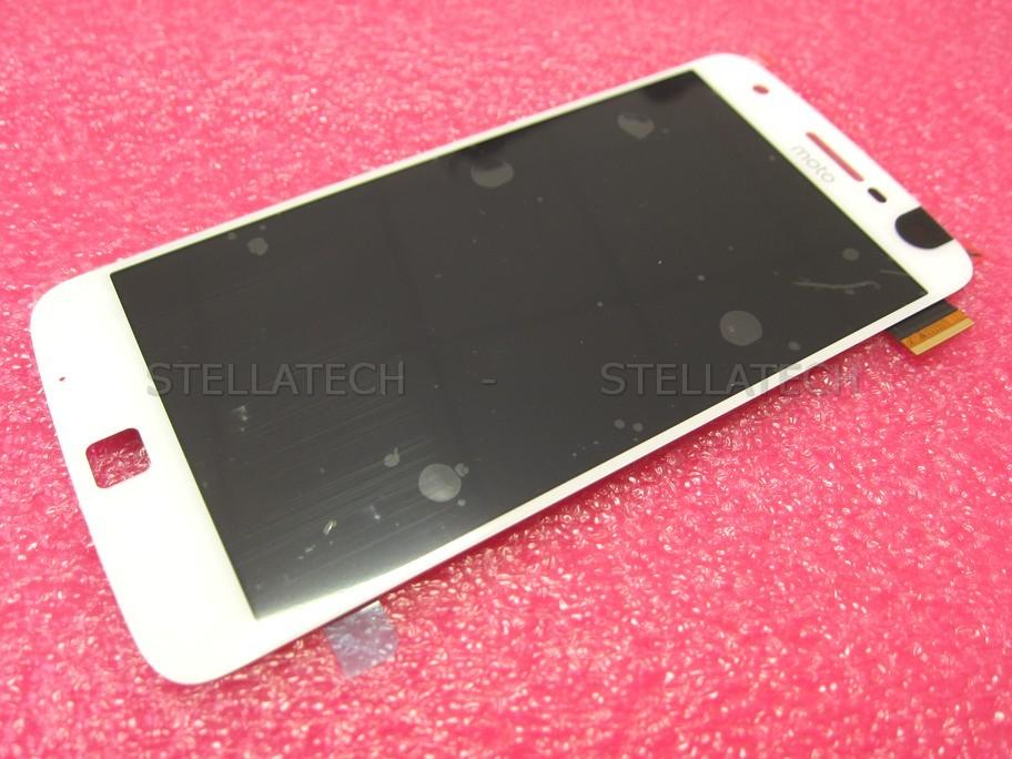 Motorola Moto Z Play Dual (XT1635-02) - Display LCD + Touchscreen f   White/Gold